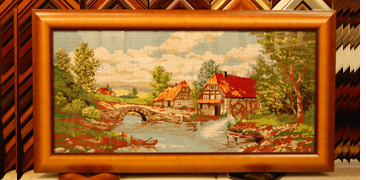 Frame Needlework With High Quality Wood